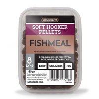 Sonubaits Soft Hooker Pellets 8mm - Fishmeal