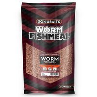 Sonubaits Worm Fishmeal Groundbait - 2kg
