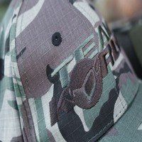 Team Korda Camo Canvas Cap (KBC01)