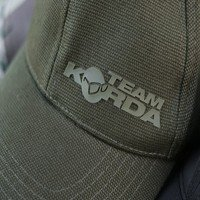 Team Korda Olive Canvas Cap (KBC04)