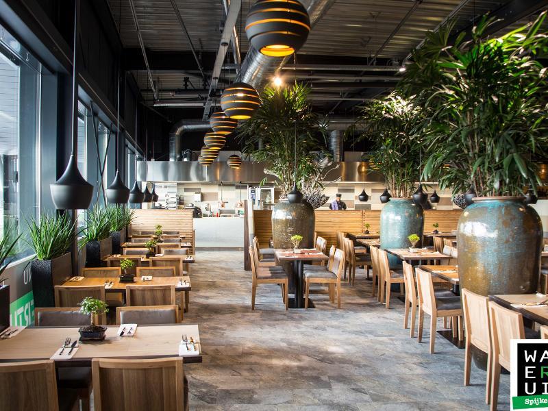 reserveer een tafel bij restaurant de watertuin spijkenisse in