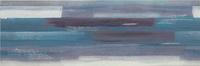 Artistico Blue Inserto Geo 25x75