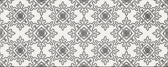 Blackwhite Pattern E 20x50