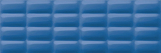 Blue Glossy Pillow Structure 25x75