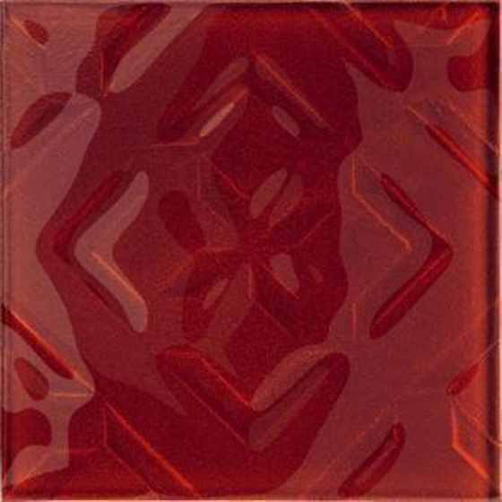 Cuban Cube Red Inserto 20x20