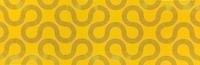 Spin Yellow-Black Geo 25x75