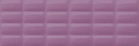 Violet Glossy Pillow Structure 25x75