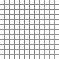Albir Bianco Mozaika Prasowana K 2,3x2,3 29,8x29,8