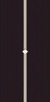 Secret Nero Inserto Murano 29,5x59,5
