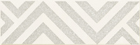 Burano Bar White Dekor C 23,7x7,8