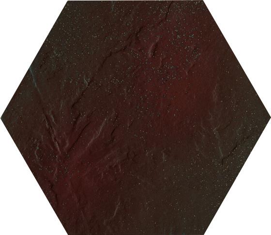 Semir Brown Heksagon 26x26