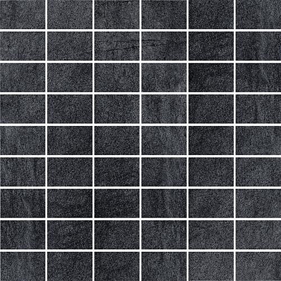 Taranto Grafit Mozaika Cięta Półpoler 29,8x29,8
