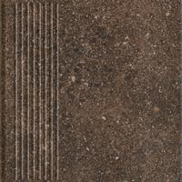 Granitos Brown Stopnica Prosta 30x30