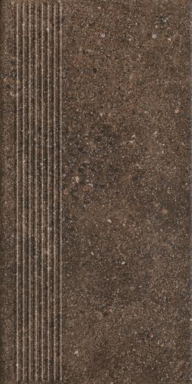Granitos Brown Stopnica Prosta 30x60