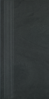 Rockstone Grafit Stopnica Prosta Mat 29,8x59,8