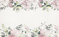 Aura Inserto Flowers 25x40