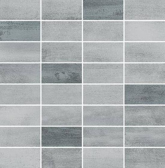 Floorwood Grey-Graphite Mix Mosaic 29x29,5