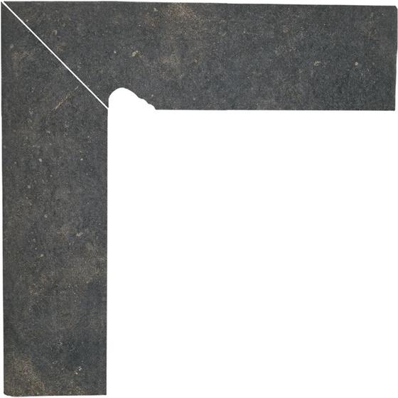 Scandiano Brown Cokół 2-El Lewy 8,1x30