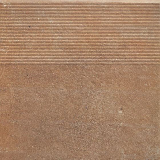 Scandiano Rosso Stopnica Prosta 30x60