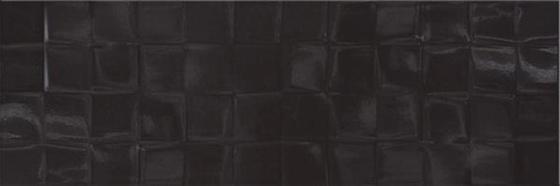 Black Satin Structure Cubes 19,8x59,8
