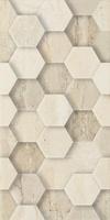 Sunlight Stone Beige Dekor Geometryk 30x60