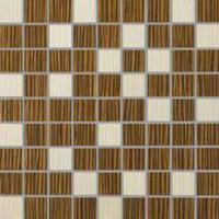 Zebrano Brąz Mozaika 1 30x30
