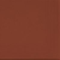 Klinkier Rot Stopnica Narożna 30x30x1,1