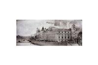Centro Treviso Postcard Grey 2 20x50