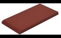 Klinkier Rot Parapet Gładki 24,5x13,5x1,3