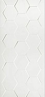 White Hexagone Połysk 30x60