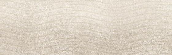 Torana Cream Tonal Satin 3-D 24x74