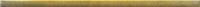 Glass Gold Border 3x89