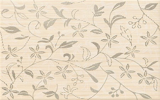 Tanaka Cream Inserto Flower 25x40