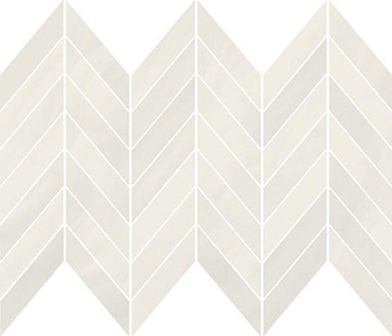 Markuria White Chevron Mosaic Matt 29,8x25,5