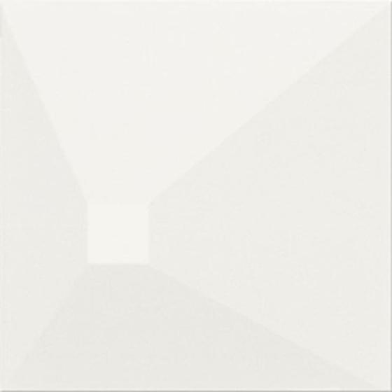 Monoblock White Matt Effect 3-D 20x20