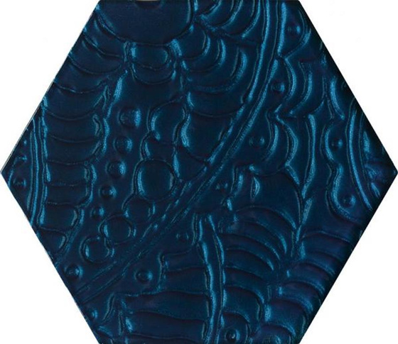 Urban Colours Blue Inserto Szklane Heksagon 19,8x17,1