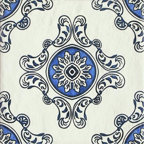 Sevilla Azul Struktura Dekor B 19,8x19,8