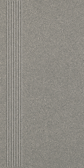 Solid Grys Stopnica Prosta Mat 29,8x59,8
