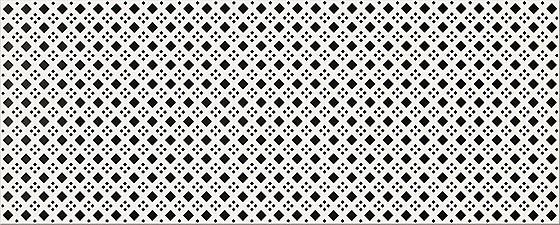 Black White Pattern D 20x50