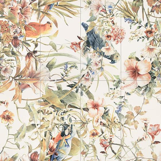 Modern Pearl Parrots Obraz 8-El 119,8x119,8
