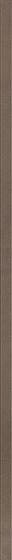 Uniwersalna Listwa Szklana Paradyz Wenge Fazowana 2,3x97,7