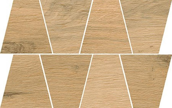 Natural Beige Mosaic Trapeze 19x30,6