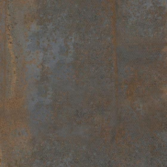 Kalahari Rust Hexa Metal Mat 75x75