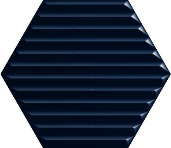 Intense Tone Blue Heksagon Struktura B 19,8x17,1