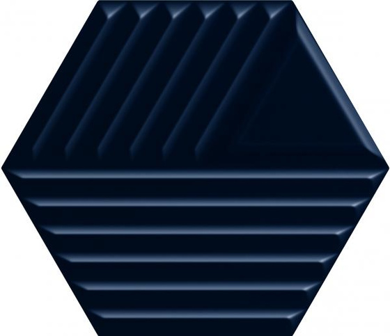Intense Tone Blue Heksagon Struktura C 19,8x17,1
