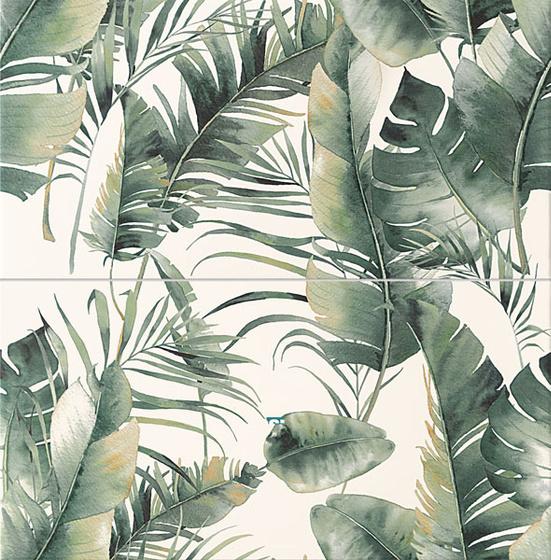 Burano Green Dekor 2-El 61,8x60,8
