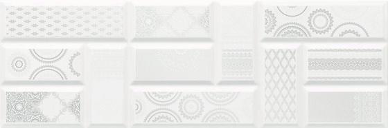 Centro Art White 25x75