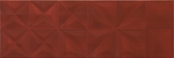 Modern Line Red Structure 25x75