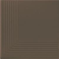 Simple Brown Stopnica Narożna 30x30