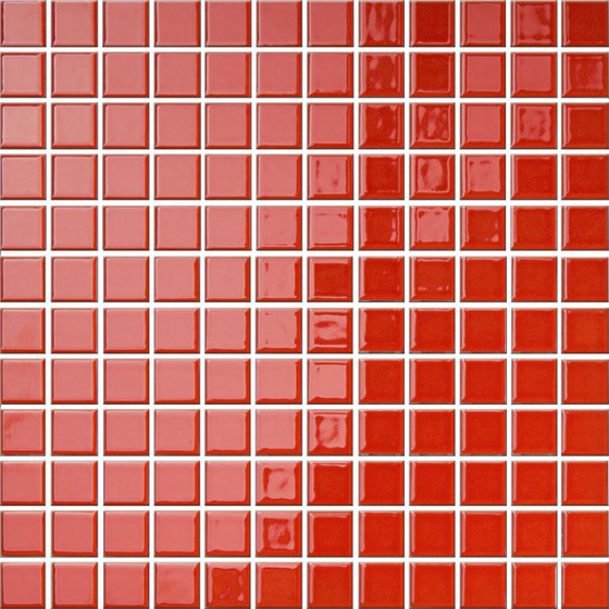 Mozaika Palette Czerwona 30x30